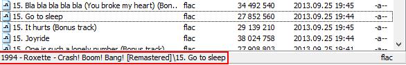 Total Commander fájlok egy listában
