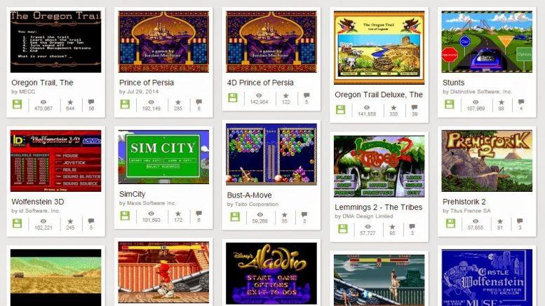 MS-DOS játékok
